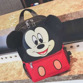 4. BN Mickey Bag school backpack