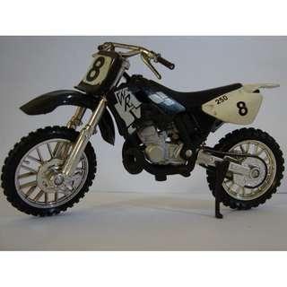 Miniatur Motorbike Black