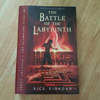Percy Jackson - The Battle of the Labyrinth