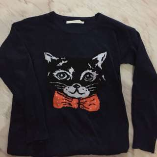 Korean cat sweater