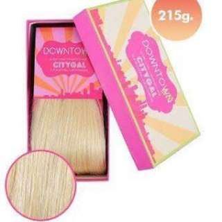 DOWNTOWN DOLL HAIR EXTENSIONS BLONDE 20 INCH 120G