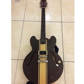 Guitar epiphone ES-333 Tom DeLonge