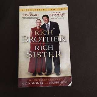 Rich Brother Rich Sister by Robert and Emi Kiyosaki