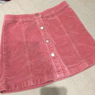 Zara Suede Skirt Size 7