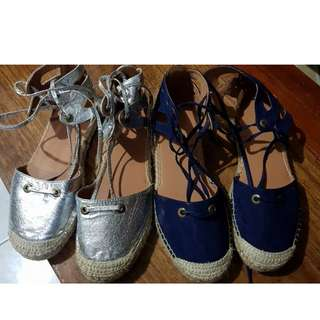 Rubi Espadrilles (only silver is avail)