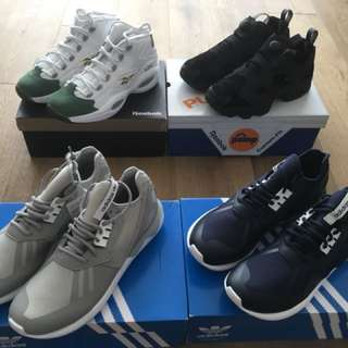 Brand New Adidas & Reebok Shoes for sell