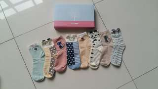 Cute socks for women 8pairs