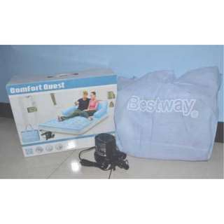 Air Sofa Bed Bestway 5 in 1 Bangku Kasur Sofa Angin Portable