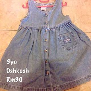Oshkosh Denim Dress