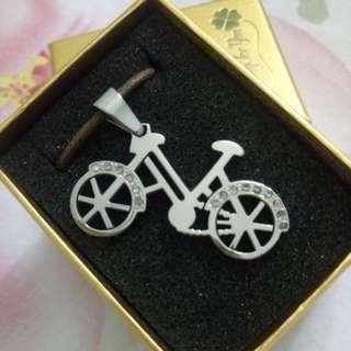 台灣自家設計單車頸鍊#滄海遺珠