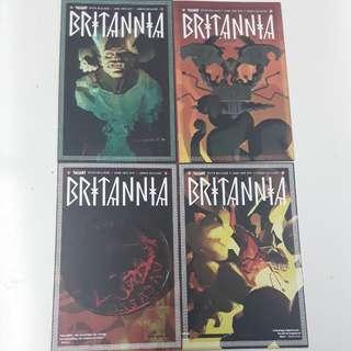 Britannia Comics Set