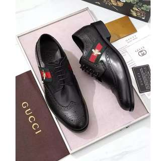 EAWEDGOS 2018 All Size Gucci Leather Formal Casual Shoe