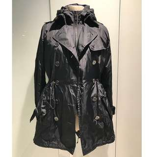 BURBERRY-95%new two in one jacket