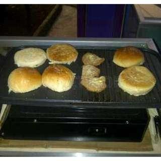 Multi grill Pan Alat Pemanggang Daging Sosis Tanpa Arang Harga MURAH