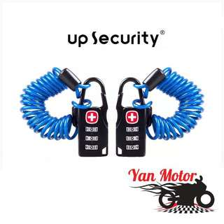 Swiss / Security Pin Number Lock / Handlebar Carabiner Helmet Lock