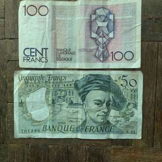 Old Note - French