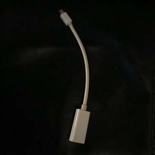 Apple HDMI to Mini DisplayPort Adapter