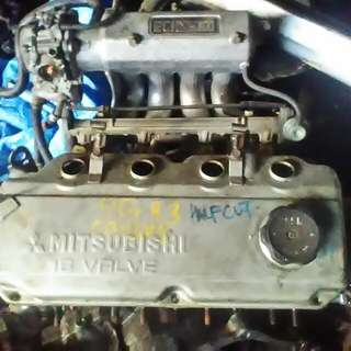 Head 4g93 single haftcut cam wira satria