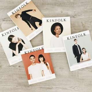Kinfolk Volume 15-19