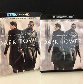 (2017 Blu-ray) The Dark Tower Blu-ray