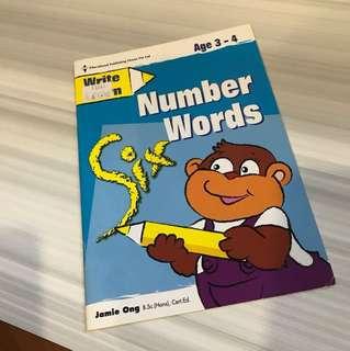 Children exercise books