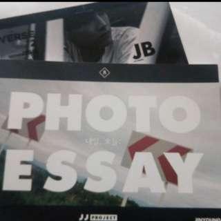 GOT7 JJ PROJECT VERSE 2 PHOTO ESSAY + JB LOMO CARD