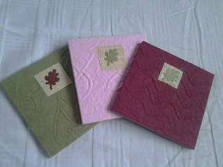 Brown Paper 1/4 Stationery set of 3's