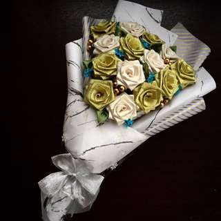 <Limited Slots> 14 Ribbon Rose Bouquets