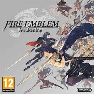 WTB Fire Emblem 3DS Games