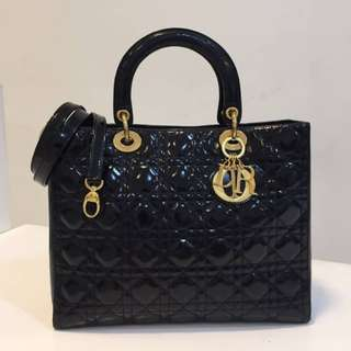 Authentic Lady Dior Large