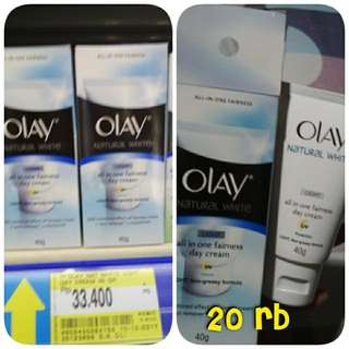 olay natural white all in one fairness day cream