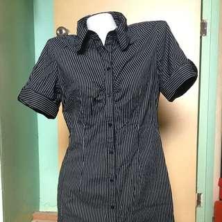 Black&white office dress