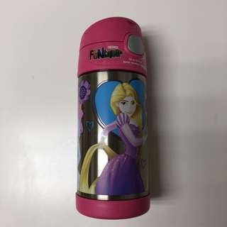 全新正品膳魔師Thermos兒童不鏽鋼吸管保溫杯 迪士尼公主Disney Princesses 新款含提把
