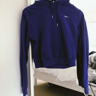 Nike crop jumper