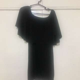 BNEW Off-Shoulder bodycon fitted Mini Dress or Long Top (FREE SIZE)