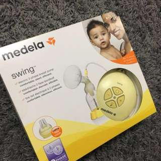 Preloved medela swing breast pump