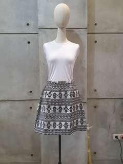 Ethnic Mini Skirt