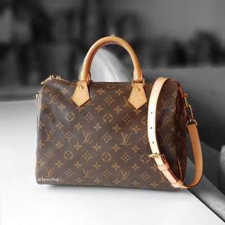Authentic Louis Vuitton Speedy B 30 LV