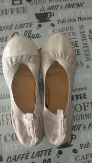 Authentic Rubi flats butterfly