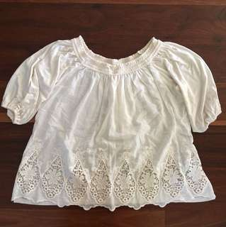 Hollister Styling Summer Boho Style Top