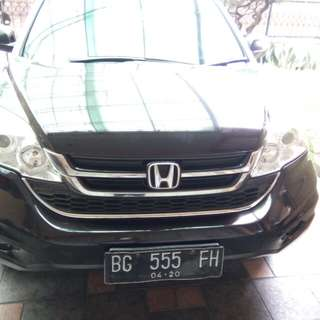 CR-V 2.0 Manual warna hitam coca cola