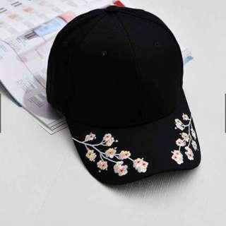ON HAND! korean famous floral cap