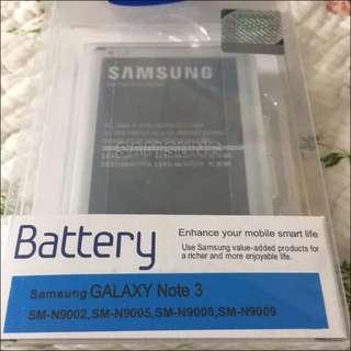 三星 SAMSUNG GALAXY NOTE 3 3200mAh NFC BATTERY 100% new unopened Original