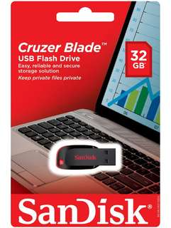 Brand new SanDisk Cruzer Blade 32Gb Selling At $13.90