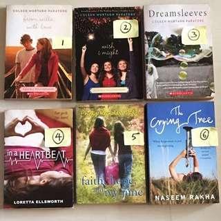 Preloved Teenage Books