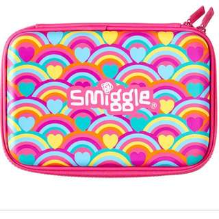 Pink smiggle pencil case