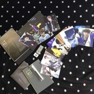 (EXO D.O./Do Kyungsoo) DOHHEART Just Do It! 2014 Calendar + Photocards