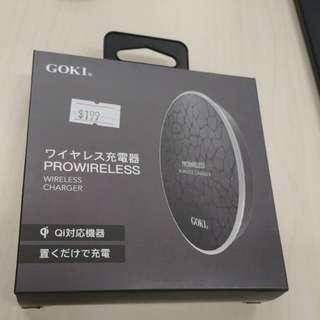 Goki手機無線充電座 半價出讓 新年前買送micro usb, type c接收模組,魚眼鏡