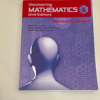 Discovering Maths 2nd Edition Normal Academic