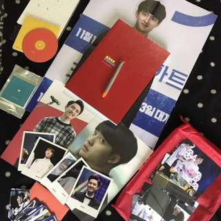 (EXO D.O./ Do Kyungsoo) SUAVE ISLAND 2nd Photobook + 2015 Calendar [ MOOD PUNCH! ]